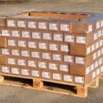 Palette filmée de 200 cartons