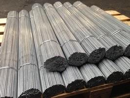 fil acier dressé-coupé